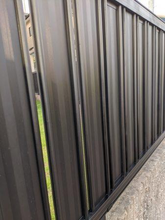 アルミ外構フェンスの塗装