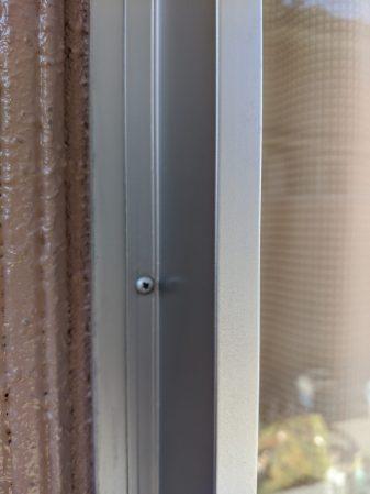 アルミ製サッシ枠の劣化の塗装・補修
